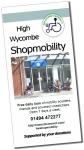 Shopmobility leaflet
