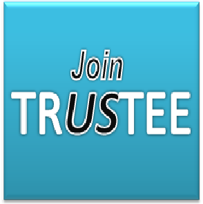 Image saying join us as a trustee