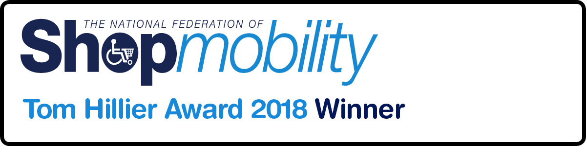 High Wycombe Shopmobility - Tom Hiller Award Winner 2018