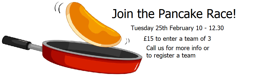 Join our pancake race