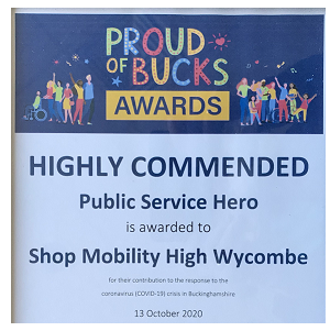 Proud of Bucks Award photo