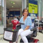 Picture of Katy - shopmobility volunteer